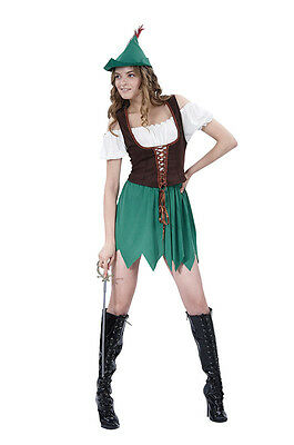 Women Adult #Robin Hood Budget For Fancy Dress Costume (Budget Fairy Tale)