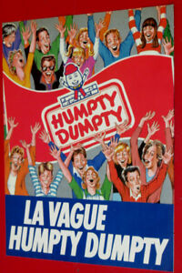 FRENCH 1989 HUMPTY DUMPTY CHIPS LA VAGUE AD - RETRO ANONCE 80S