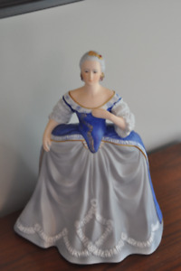 Franklin Fine Porcelain Figurine