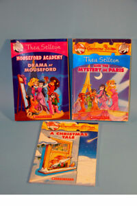 Lot Geronimo Thea Stilton Children Chapter Books