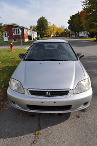 2000 Honda Civic CX Coupé (2 portes)