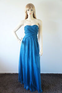 New Sexy Elegant Evening Ball Formal Prom Gown Strapless Chiffon Long Dress #147