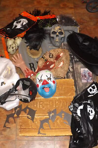 Large Lot of Assorted HALLOWEEN decorations