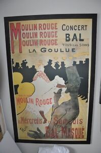 Cadres art, moulin rouge, On the road Kerouac...