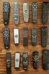 15 - TV - Dish - DVD Remotes assorted Pick-up in Newmarket