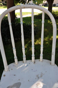 3 Wooden Painted Chairs- great for Chalk painting! Cambridge Kitchener Area image 8