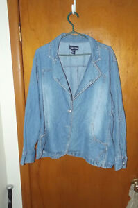 Baccini Ladies Jean Jacket - $20.00