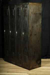 industrial furniture antique locker medical cabinet steel