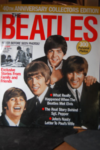 The Beatles Mixed lot of Magazine/Pictures/2003 Echo 40th paper