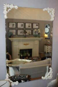 BEAUTIFUL FRENCH PROVINCIAL BEVELLED MIRROR