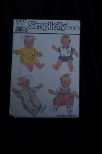 "21"" Doll Clothes Sewing Pattern Simplicity 8417 Uncut"