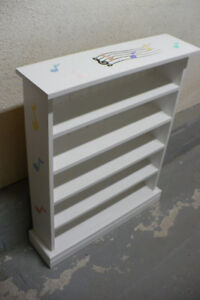 Music Shelf Cabinet CD Storage Painted Furniture Used Hand Made