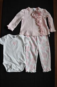 Vêtements bébé 12 mois - 11 beaux morceaux
