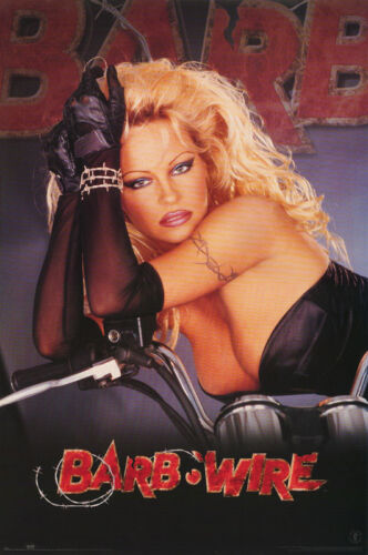 POSTER : MOVIE REPRO: BARB WIRE - PAM ANDERSON -  FREE SHIPPING ! #3013  RW14 U