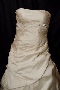 Beautiful Silk Wedding Dress!