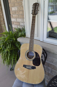 Denver DD44S  12 String Acoustic Guitar