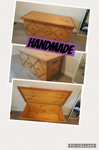Large handmade trunk price reduced
