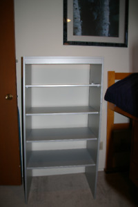 Bookcase - Gray 5-Shelves