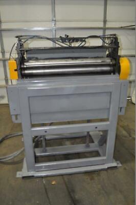 36 X .135 Press Room Equipment Servo Feeder .020 .135 Thickness Capacity 3