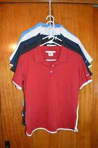 Woman's Nike Golf Shirts MOST NEVER WORN $10 each or 5/ $40