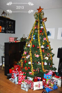 Artificial Christmas Tree Free-- Pending pick up only