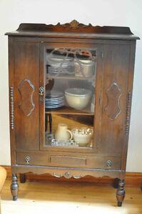 Buffet et vaisselier art nouveau / hutch for sale