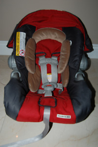 Car Seat Fabric Cover- Graco SnugRide35 (frame not for sale)