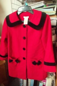 Girls size 5 dress coat,winter jackets