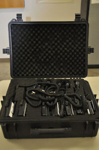 7 VX FM radios with mics, and accessories Prince George British Columbia image 1