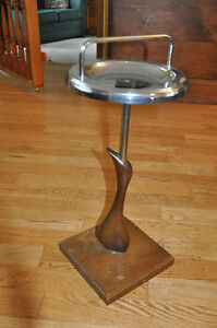 vintage stand ashtray