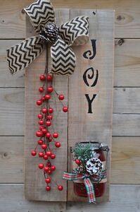 custom christmas pallet/wreaths for sale! Cambridge Kitchener Area image 5