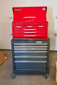 Large multi-drawer Mastercraft /  Stanley tool chest