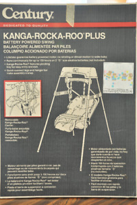 Baby Swing, Battery Powered - Kanga-Rocka-Roo