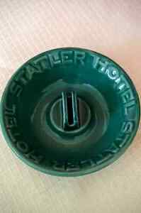 Vintage Statler Hotel Ashtray with Match holder. Kitchener / Waterloo Kitchener Area image 1