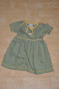 Robe rayé pour petite fille bébé enfant vêtement