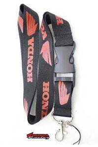 HONDA Racing Lanyard ID Holder Keychain cell phone Moto Cars CBR