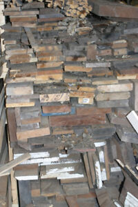 Huge Pile of Veneer and Rough Hardwood Lumber