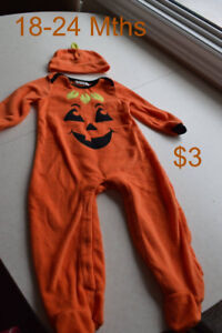 Various Baby Halloween & Tiger outfits