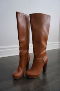 Nine West knee high boots, size 6, new, never worn