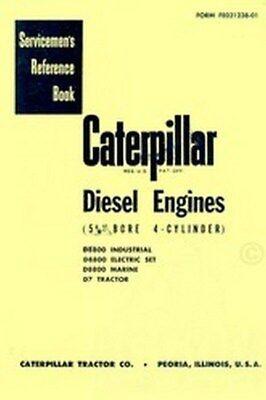 Caterpillar D7 D8800 D-7 D-8800 Engine Service Manual