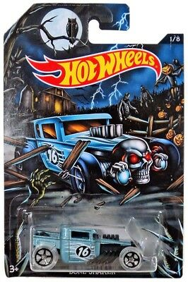Hot Wheels Happy Halloween! Bone Shaker Die-Cast Car #1/8