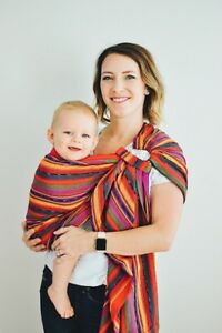 NEW! - Award Winning Maya Wrap Sling (Bright Stripes)