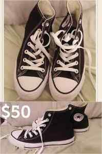 Converse - Worn once - Size 6 womens