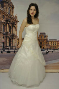 New extra slim small fitting wedding dress clearance sale