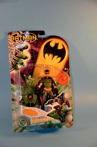 Vintage 2003 Batman BATTLE BOARD ROBIN Figure Toy NEW Mattel