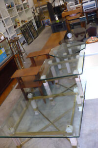Various Coffee Tables Wood Glass Retro Modern Vintage Painted