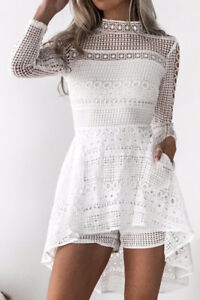 NEW Cute White Wedding Reception or Bachelorette  Party Outfit