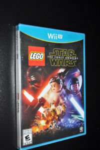 NEW LEGO Star Wars The Force Awakens Wii U game, never used