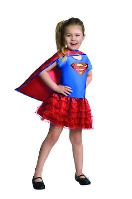 Rub - Superman Kinder Kostüm Supergirl Karneval Fasching Gr.3-4 - Superman Weibliche Kostüm
