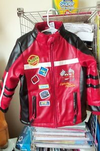 toddler boys cars jacket and sweater size 4